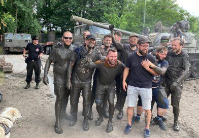 Impreza Kawalerska w Parku Techniki Wojskowej w Zabrzu.